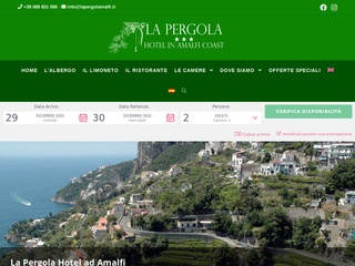 Hotel La Pergola, Amalfi